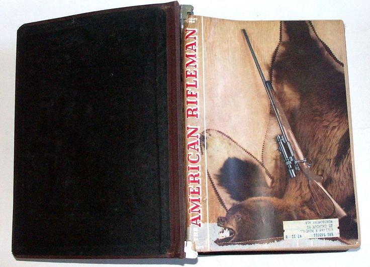 1958 American Rifleman NRA Magazine Full YEAR 12 Issues Vintage LOT  #AmericanRifleman