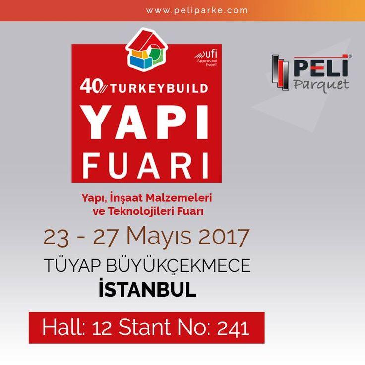 23-27 Mayıs tarihleri arasında, İstanbul TÜYAP Fuar ve Kongre Merkezinde düzenlenen, 40. Yapı Fuarındayız. Sizleri de, Peli dünyasının yeni ürün ve teknolojilerini keşfetmeye bekliyoruz.