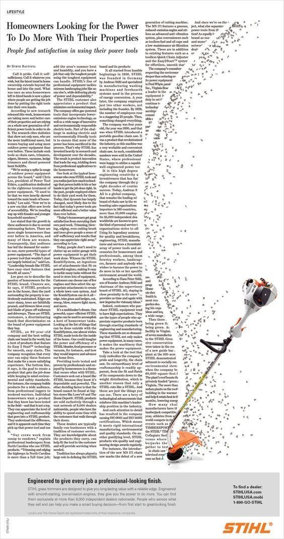 Aviso de prensa no convencional - Cortadora