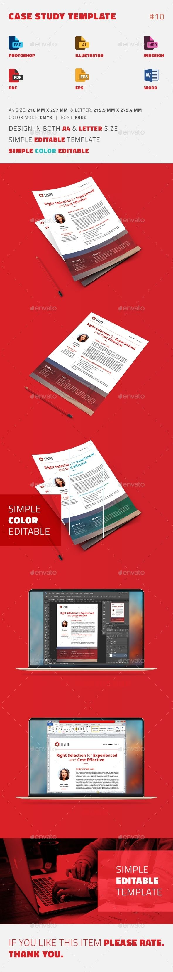 Case Study Template | Flyer - Newsletters Print Templates Download here : https://graphicriver.net/item/case-study-template-flyer/15581556?s_rank=114&ref=Al-fatih