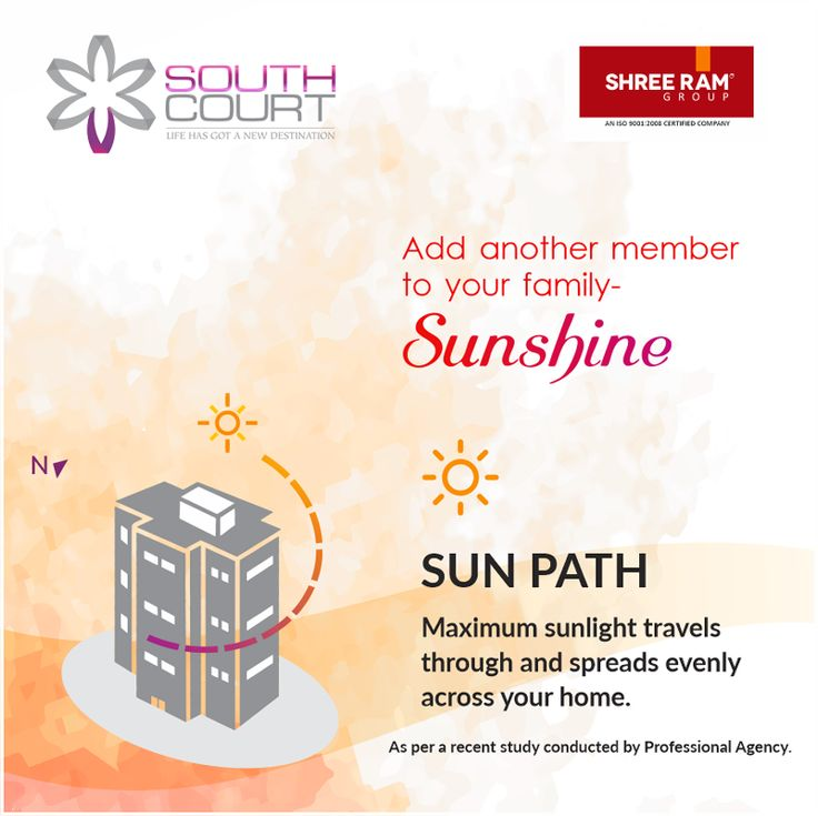 At #SouthCourt, advanced engineering has created better sun-lighting conditions in your #home, which helps to keep you and your family happy! Based on a well-researched scientific study that makes these 2/2.5/3/3.5 #BHK high-rise #luxury #apartments the best in comfort living! Located at the promising location of #Jagatpura, call: 9799670444/777 and plan a site visit today.