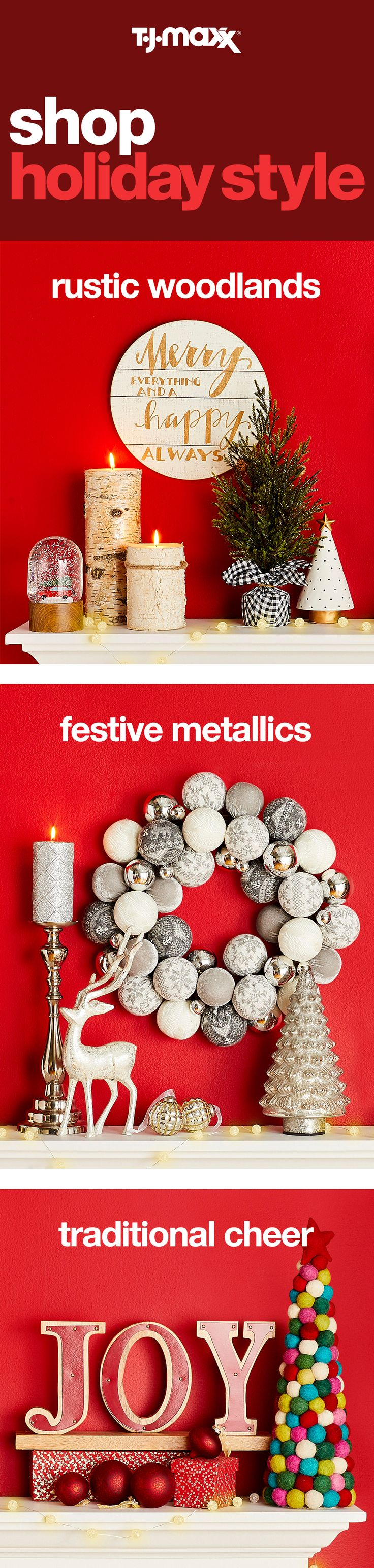 417 best Christmas decor images on Pinterest