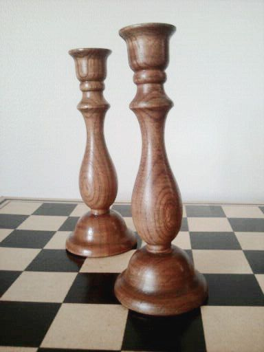 296 best wood turning images on pinterest woodturning for Wooden candlesticks for crafts