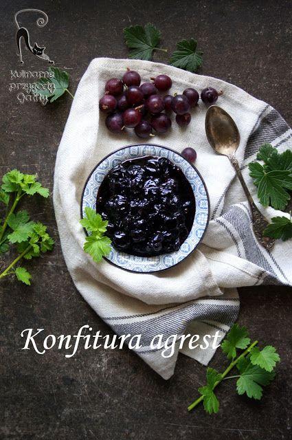 Kulinarne przygody Gatity: Konfitura agrestowa