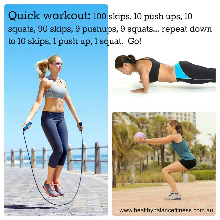 Home workout - Full body reducing reps