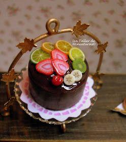 Nada mejor para afrontar con actitud positiva la nueva y calurosa semana, que la imagen dulce y refrescante de mi ultima tarta de chocolate...