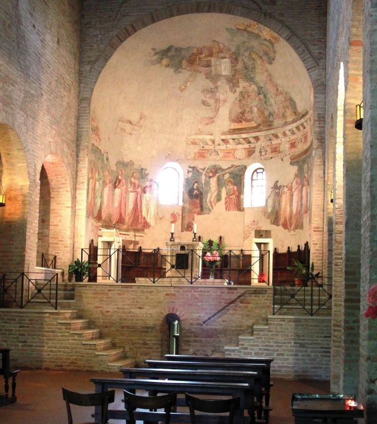 Bagnacavallo. Pieve di San Pietro in Sylvis