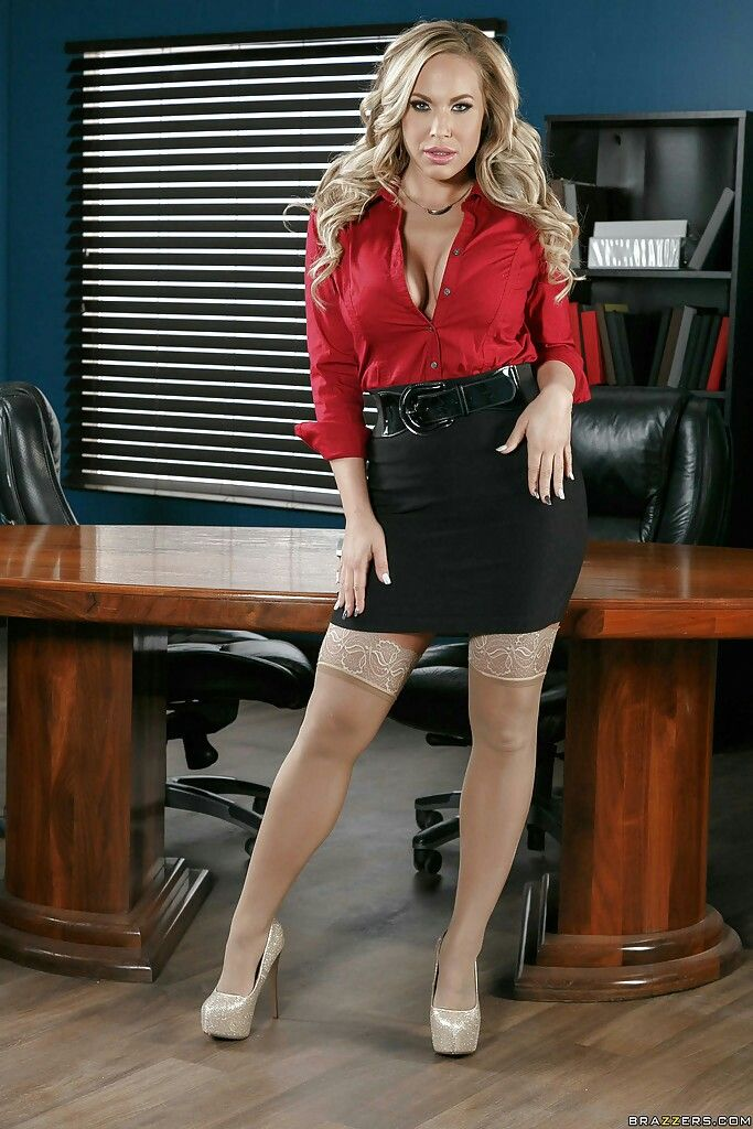 Brazzers blond busty secretary alexis ford fucks her boss - 2 part 9