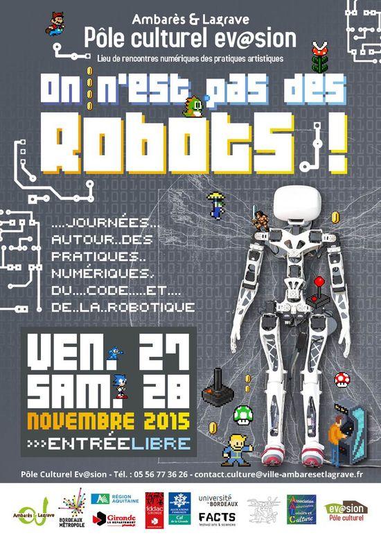 Après-midi jeux vidéos et code @ Pôle Culturel Evasion Ambarès Ambarès-et-La Grave - samedi 28 novembre 2015