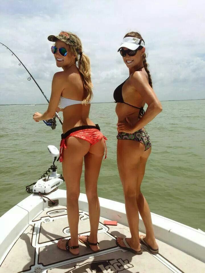 17 best images about fishing women in bikinis on pinterest for Women fishing in bikinis