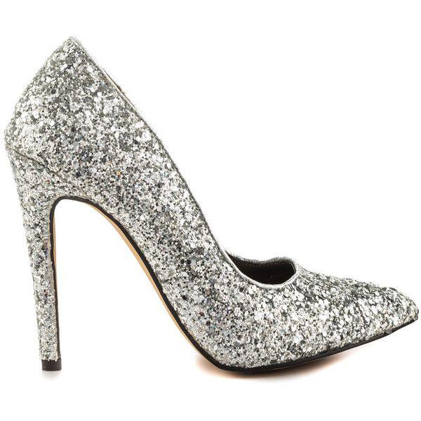 1000  ideas about Silver Chunky Heels on Pinterest | Platform