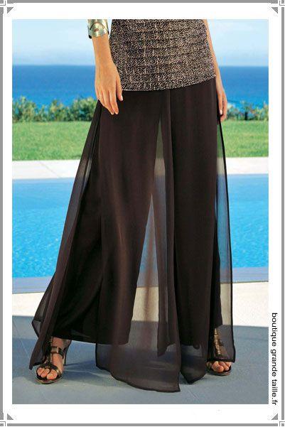 21 best pantalon femme ronde ajustable images on pinterest. Black Bedroom Furniture Sets. Home Design Ideas