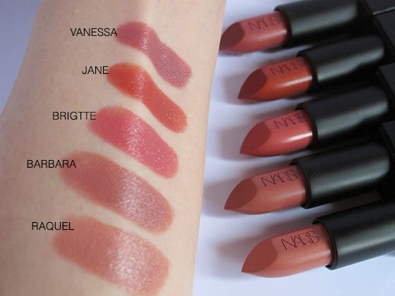 NARS Audacious Lipsticks - Swatches & Review