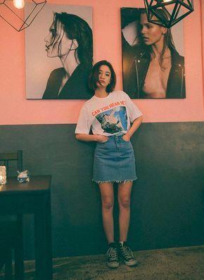 11 Möglichkeiten, T-Shirts in einem coolen Look für Lolla zu tragen – Nice fas…
