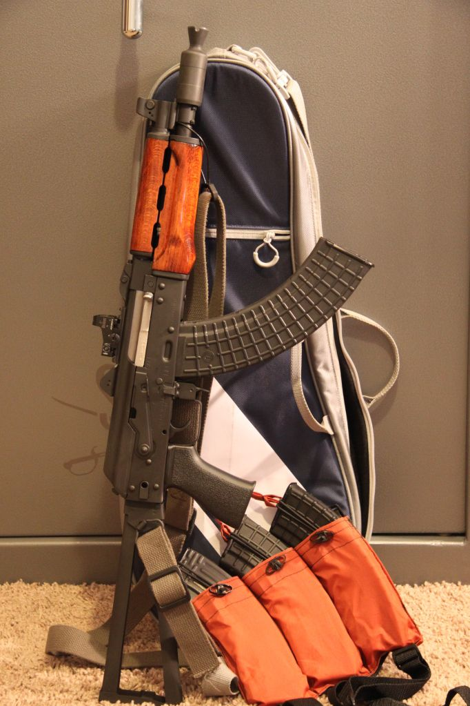 Krinkov style Zastava M92 with discreet case and loadout