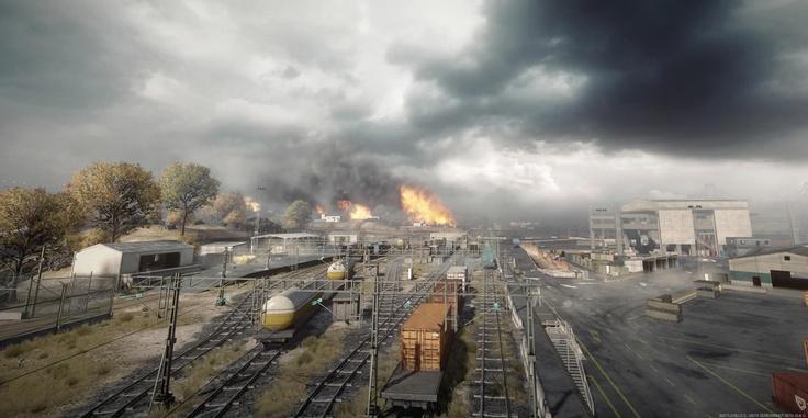 Battlefield 3 Maps, Noshahr Canals