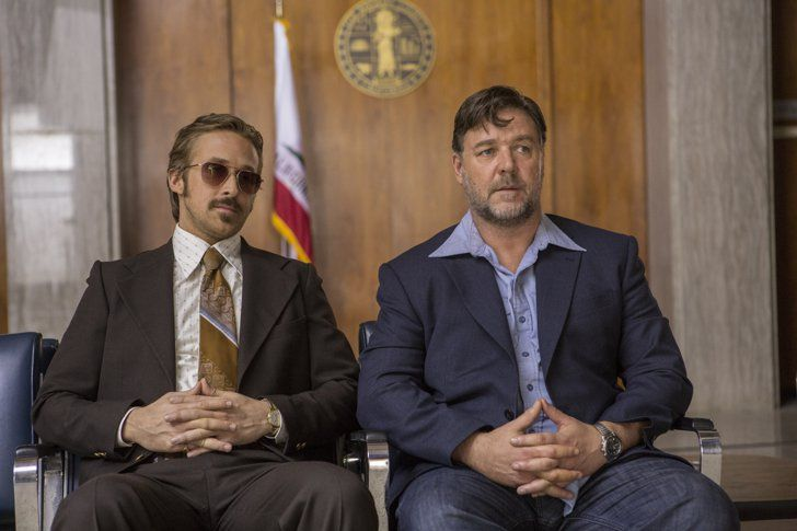 Pin for Later: Every Single Picture of Ryan Gosling Being Handsome in The Nice Guys Gosling of Justice