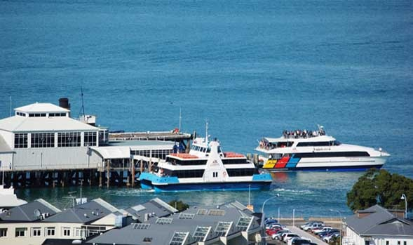 The Devonport Ferry connects Devonport with down town Auckland  and is just a 12 minute trip | Visit Devonport, Auckland, New Zealand | Visit Devonport, Auckland, New Zealand