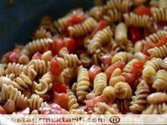 Meksika Usulu Makarna  Yemek Tarifleri resimli yemek tarifi, Makarnalar - Pilavlar tarifleri