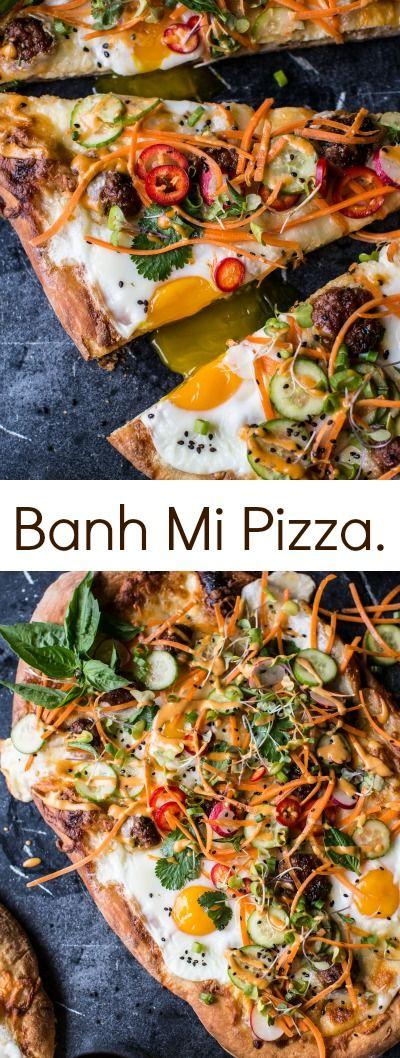 Banh Mi Pizza | halfbakedharvest.com @hbharvest