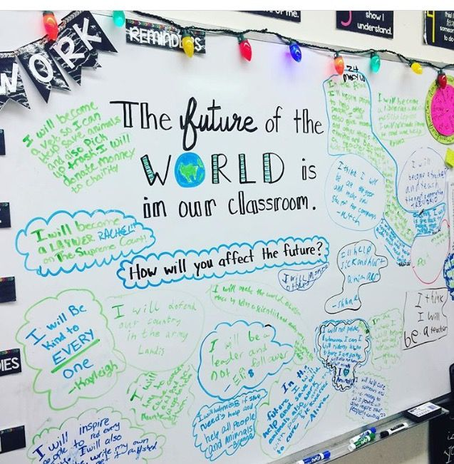THE FUTURE OF THE WORLD IS IN OUR CLASSROOM