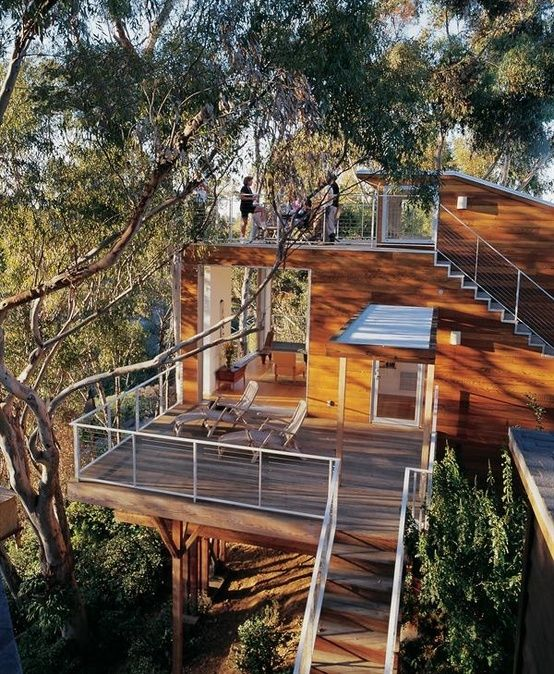 Nice Tree Houses 858 best tree houses images on pinterest | architecture