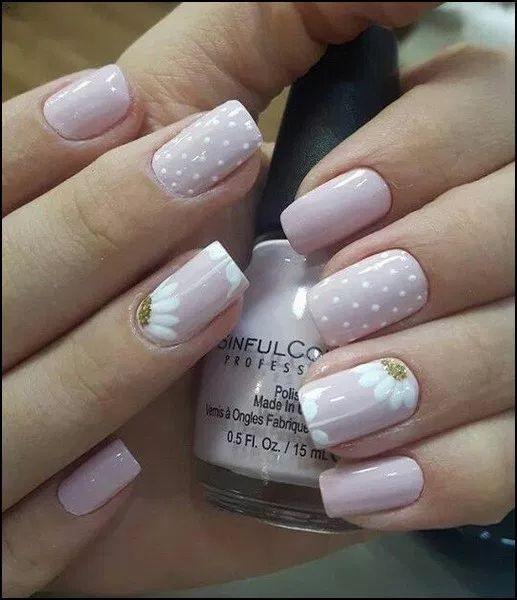 160+ best natural short square nails design for summer nails – page 32 | homeins…