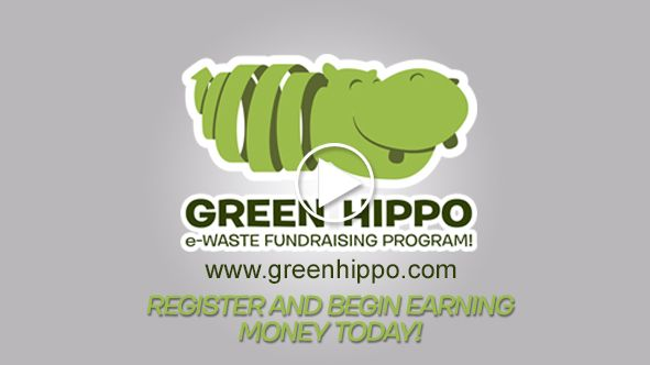 Idea for recycling/fundraising project. Green Hippo - Phone Recycling & Ink and Toner Cartridge Recycling
