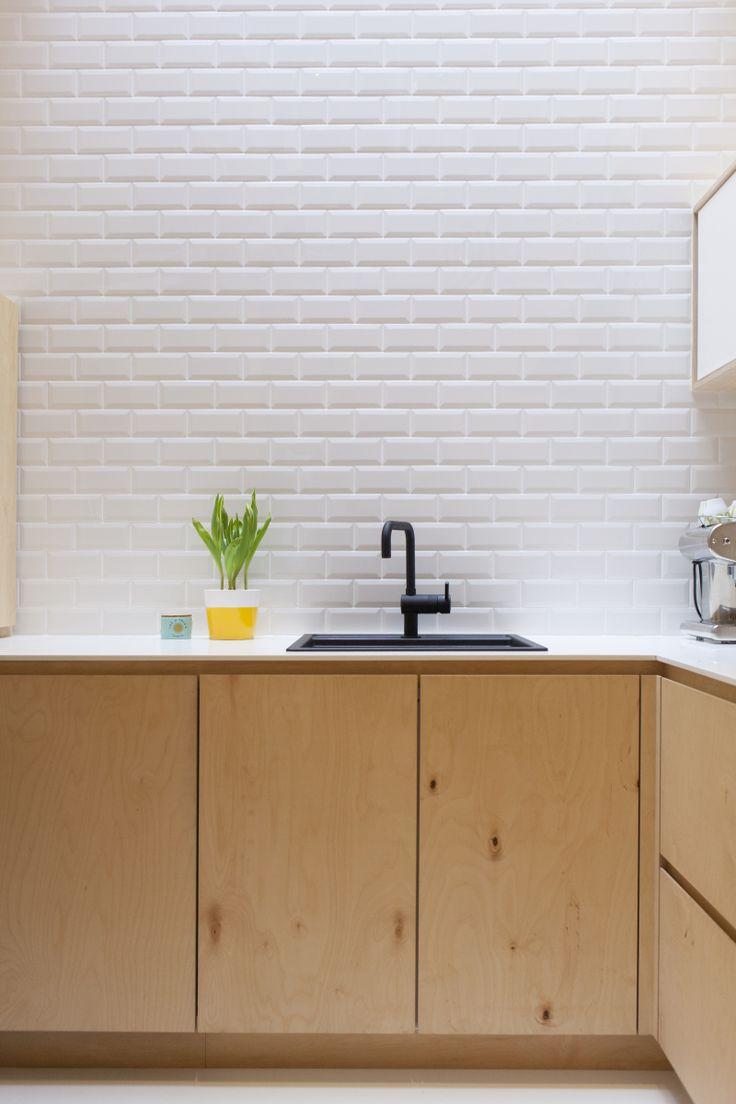 Meer dan 1000 ideeën over Witte Tegel Keuken op Pinterest - Witte ...