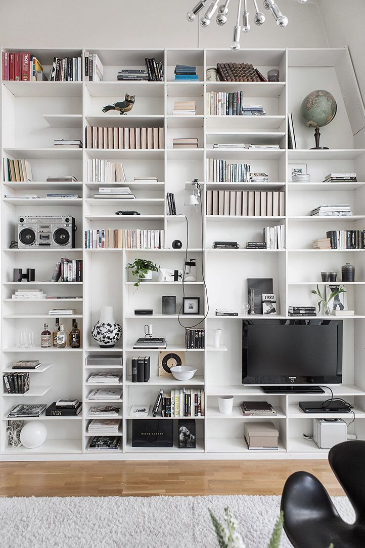 A well styled bookshelf 290 best AphroChic