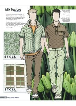 Fashion Box Men's Knitwear - S/S 2015  the green is good, should try to find better image of this