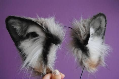 how to make wolf ears - Google zoeken                                                                                                                                                                                 More