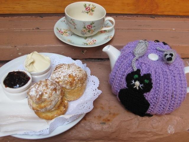 Cat and Mice Tea Cosy