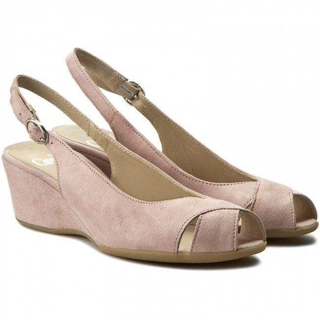 Sandály CAPRICE - 9-28358-28 Rose Suede 512