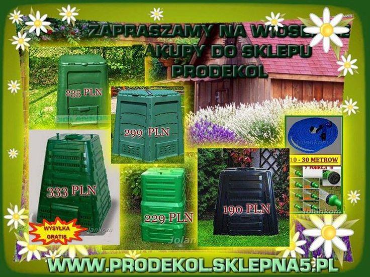 🍀Doskonalej jakosci Kompostowniki, najlepszej jakosci na rynku UE👍 w promocyjnych cenach🍀3 lata GWARANCJI🍀 Zapraszamy🌻👇👇👇 www.prodekol.sklepna5.pl #kompostownik #kompost #bio #bioodpady #humus #shoponline #promocje #prodekol #firma #jolankom (w:...
