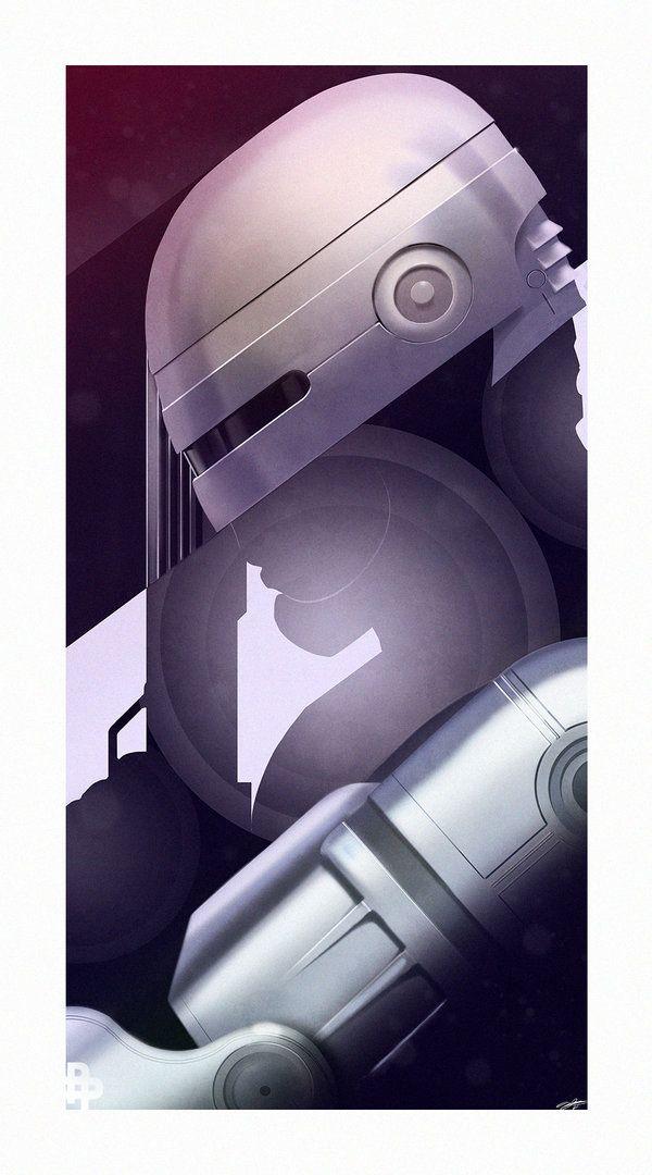 Robocop by AndyFairhurst.deviantart.com on @deviantART