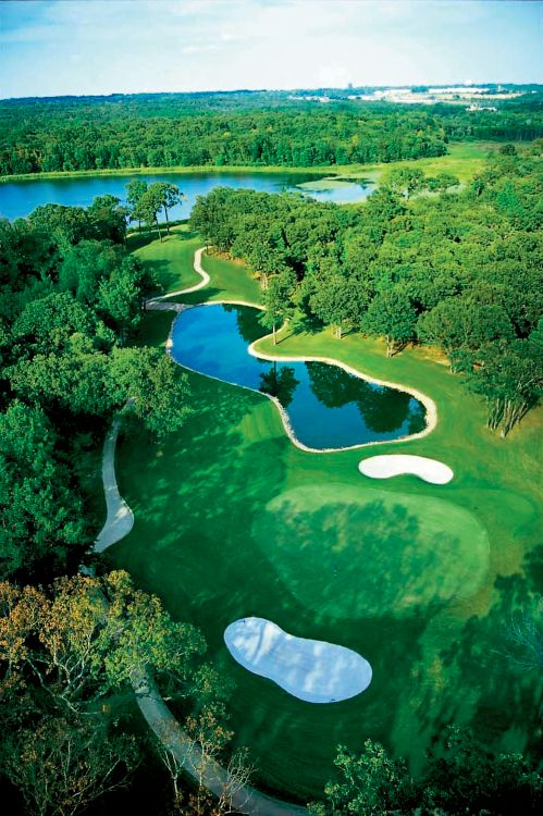 Hit the green this spring at your local golf course- like this one in Tyler, TX.