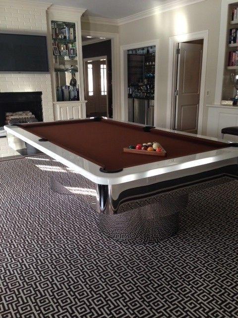 10 Inspirational Modern Pool Tables