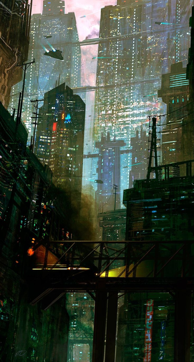 Cyberpunk city                                                                                                                                                                                 More
