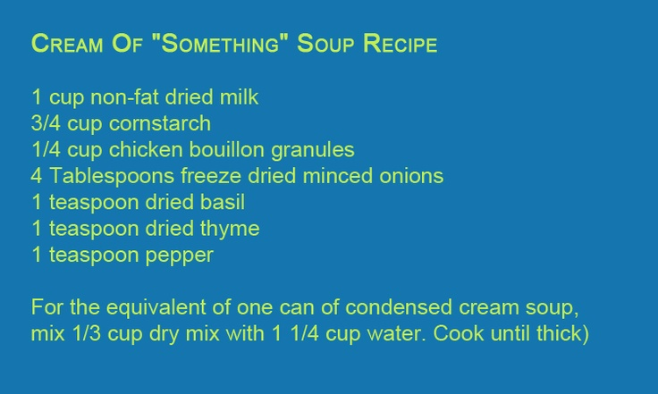 """Use gluten free bouillon and you've got a go-to """"cream of something"""" soup for crock pot recipes, etc.Glutton Free,  Website, Free Finding, Crock Pot Recipes, Recipese Gluten Free, Free Crockpot, Free Bouillon, Baby Stuff, Crock Pots Recipe"""