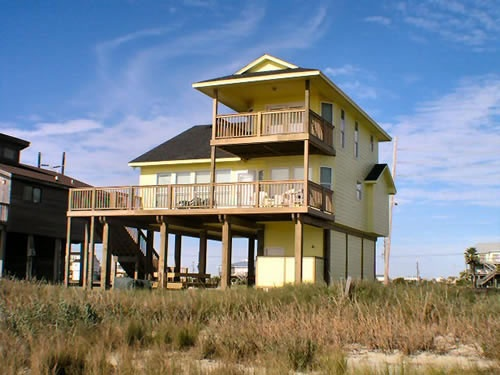 SUNKISSED - Galveston Beach House Rental -
