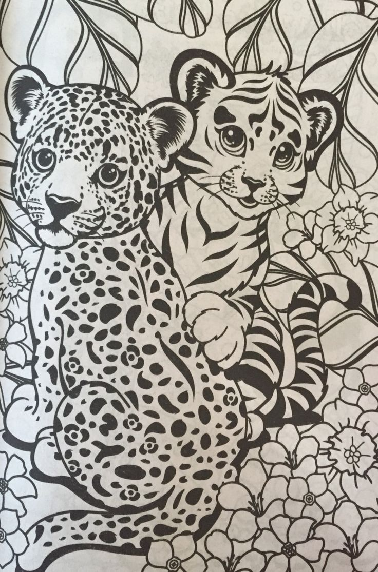 Lisa frank christmas coloring pages