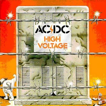 AC/DC - High Voltage. Original Australian import from 1975 on EMI. Original artwork which was later changed in the 80's. This was the very first LP recorded by AC/DC. Kind of a big deal! The Australian print came out about a year before being released on Atlantic Records. One of my most rare and valuable.