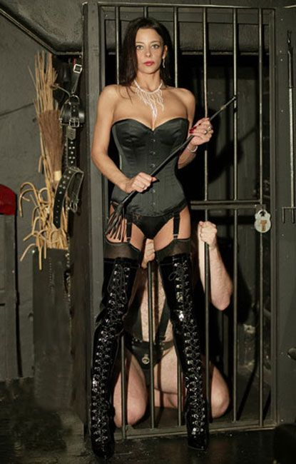 Dominatrix farm slave