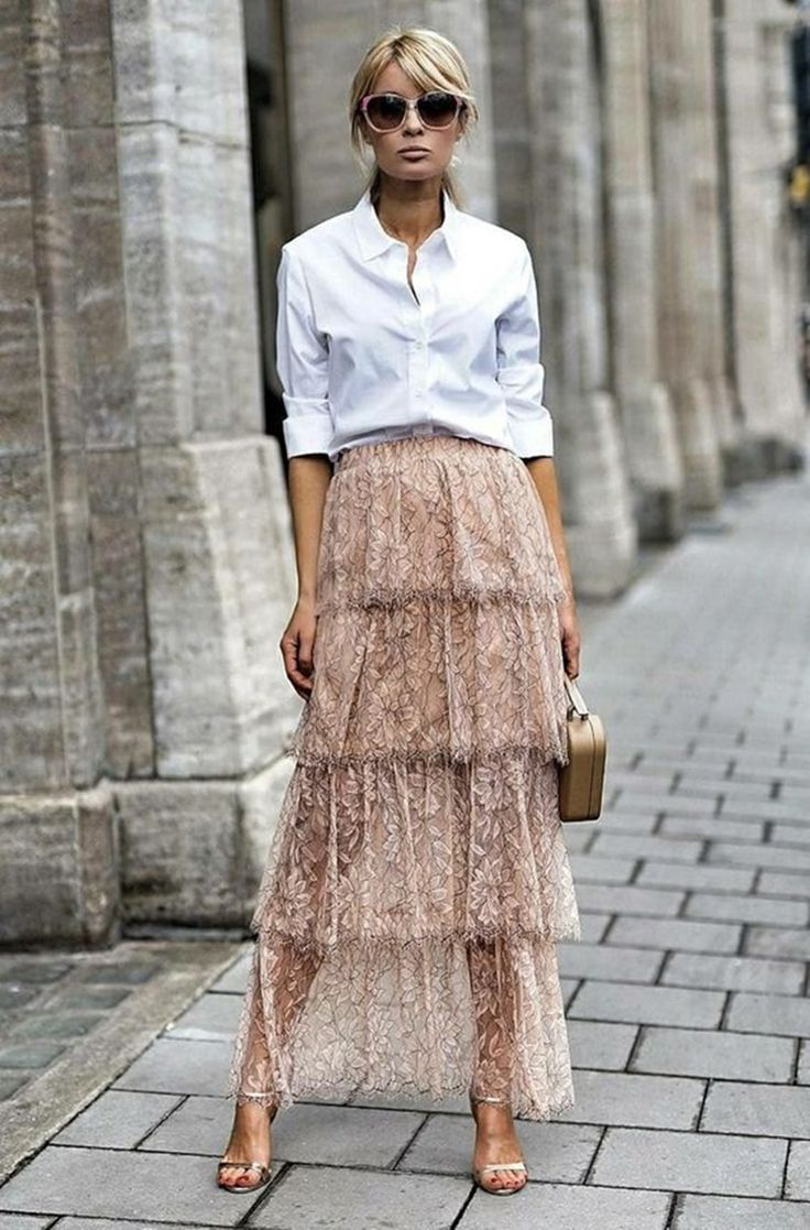 I'm into the tiered look recently! Bought a laye…