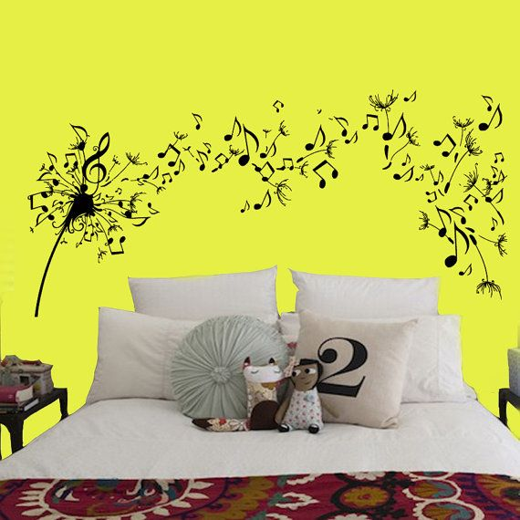 70 best Music decals images on Pinterest | Wall decal, Wall decals ...