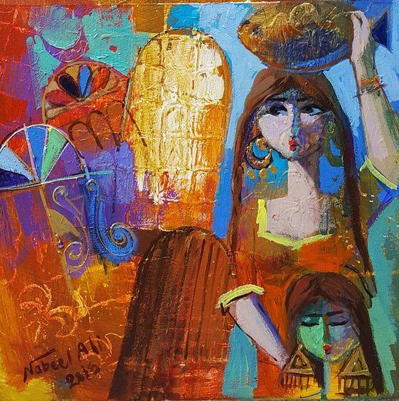 الفنان العراقي ( نبيل علي ) Nabeel Ali