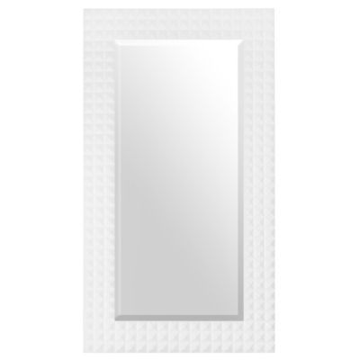 Chloe White Full Length Mirror, 30x54 | Kirklands