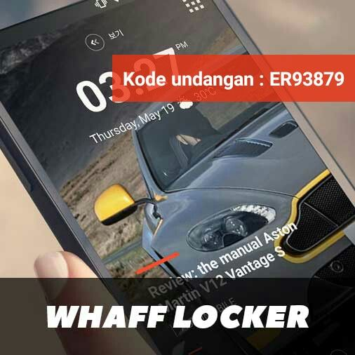 Jadikan Androidmu Sumber Penghasilanmu dengan mudah,  Ini caranya  Download WHAFF, masukkan kode undangan : [ ER93879 ] dan dapatkan $0,300!!! https://play.google.com/store/apps/details?id=com.whaff.whafflock