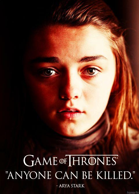 Game of Thrones #Arya Stark